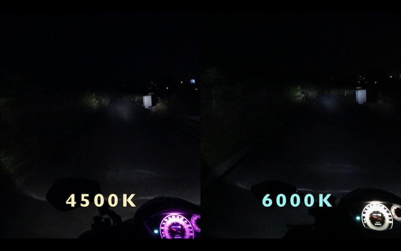 4500K6000K比較